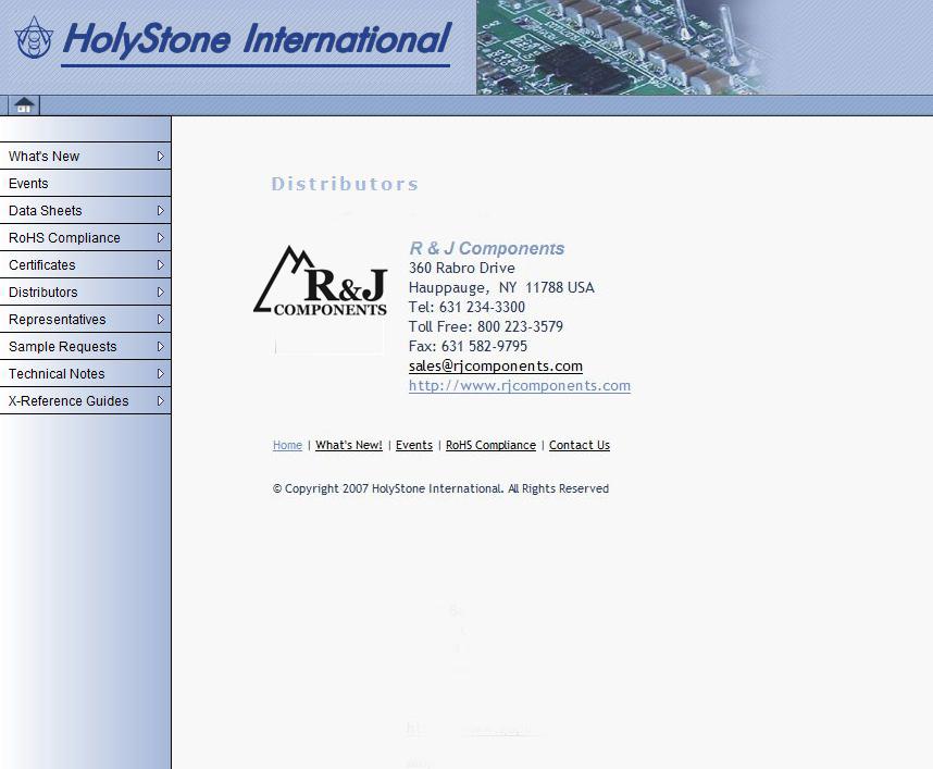 Holystone International
